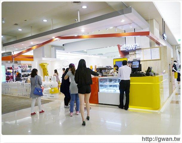 MiffyX2% CAFE-米飛兔-卡通主題餐廳-Miffy主題咖啡-親子餐廳-台北-板橋-中和環球-環球購物中心-Global Mall-Miffy 60歲-生日快樂-Miffy 60週年特展-比利時鬆餅-2-133-1