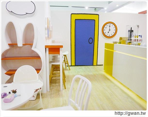MiffyX2% CAFE-米飛兔-卡通主題餐廳-Miffy主題咖啡-親子餐廳-台北-板橋-中和環球-環球購物中心-Global Mall-Miffy 60歲-生日快樂-Miffy 60週年特展-比利時鬆餅-6-176-1