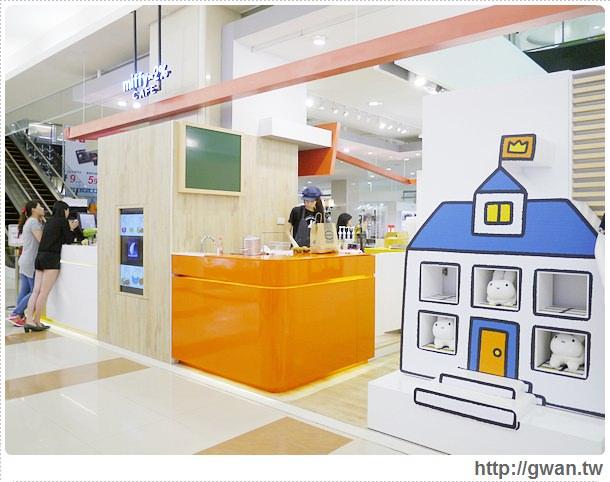 MiffyX2% CAFE-米飛兔-卡通主題餐廳-Miffy主題咖啡-親子餐廳-台北-板橋-中和環球-環球購物中心-Global Mall-Miffy 60歲-生日快樂-Miffy 60週年特展-比利時鬆餅-8-158-1