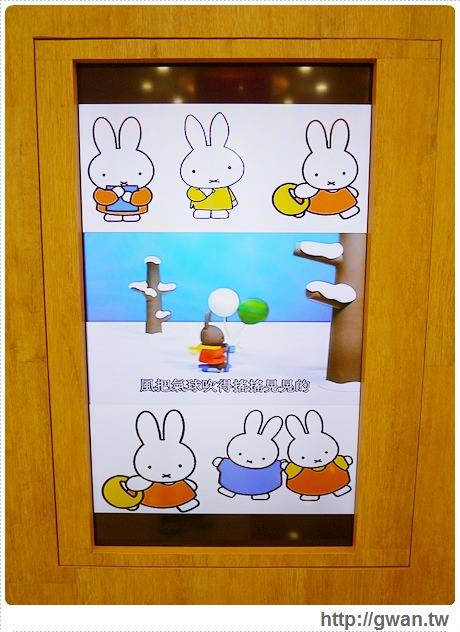 MiffyX2% CAFE-米飛兔-卡通主題餐廳-Miffy主題咖啡-親子餐廳-台北-板橋-中和環球-環球購物中心-Global Mall-Miffy 60歲-生日快樂-Miffy 60週年特展-比利時鬆餅-9-246-1