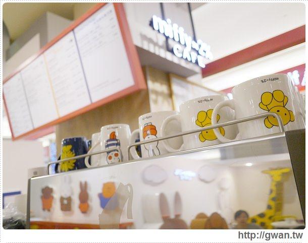 MiffyX2% CAFE-米飛兔-卡通主題餐廳-Miffy主題咖啡-親子餐廳-台北-板橋-中和環球-環球購物中心-Global Mall-Miffy 60歲-生日快樂-Miffy 60週年特展-比利時鬆餅-13-145-1