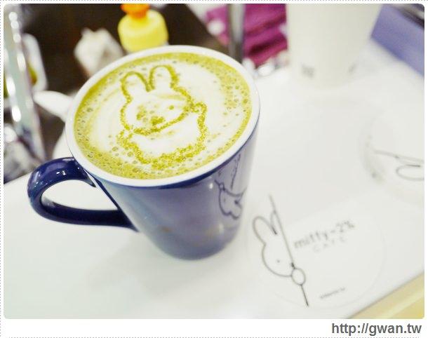 MiffyX2% CAFE-米飛兔-卡通主題餐廳-Miffy主題咖啡-親子餐廳-台北-板橋-中和環球-環球購物中心-Global Mall-Miffy 60歲-生日快樂-Miffy 60週年特展-比利時鬆餅-17-172-1