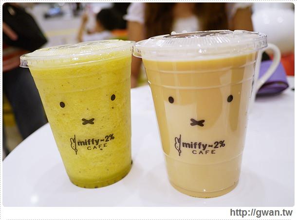 MiffyX2% CAFE-米飛兔-卡通主題餐廳-Miffy主題咖啡-親子餐廳-台北-板橋-中和環球-環球購物中心-Global Mall-Miffy 60歲-生日快樂-Miffy 60週年特展-比利時鬆餅-20-201-1