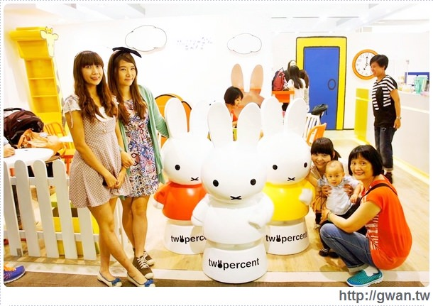 MiffyX2% CAFE-米飛兔-卡通主題餐廳-Miffy主題咖啡-親子餐廳-台北-板橋-中和環球-環球購物中心-Global Mall-Miffy 60歲-生日快樂-Miffy 60週年特展-比利時鬆餅-32-9988_o-1