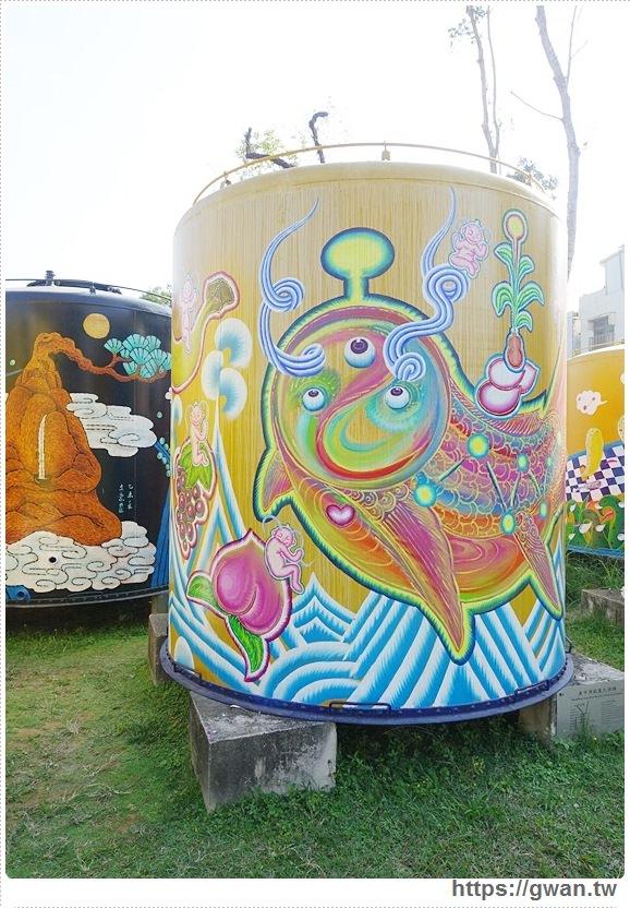 台中景點,文化創意產業園區,酒桶彩繪,大酒桶,台中舊酒廠,台中車站,後火車站,有很多大酒桶的地方,月亮小熊-9-549-1