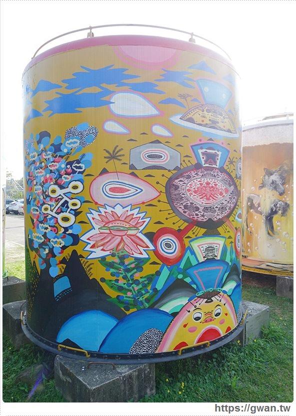 台中景點,文化創意產業園區,酒桶彩繪,大酒桶,台中舊酒廠,台中車站,後火車站,有很多大酒桶的地方,月亮小熊-15-564-1