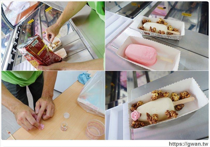 台南美食,吉樂菓,台南小吃,安平美食,夏日冰品,義式雪糕,水果雪糕,台南必吃,限量美食,安平老街,花朵冰淇淋,手做美食-9