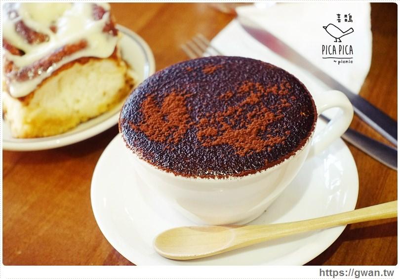 [捷運美食●台電大樓站] PICA PICA Caf'e 喜鵲咖啡 — 公館不限時咖啡廳 | 有好吃的焦糖肉桂捲