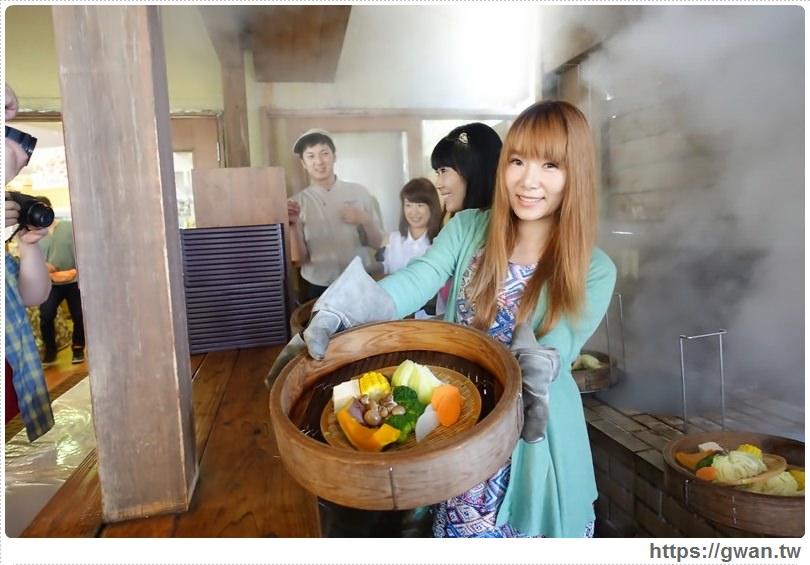 [日本美食●九州] 里の駅 かんなわ 蒸De喜屋 — 大分別府地獄蒸|溫泉地熱蒸出食材好滋味