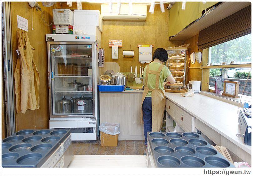 20160718025000 32 - [台中美食●西區] 綠色講堂 茗菓子–跟拳頭一樣大的茶香紅豆餅