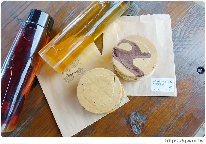 20160718025012 59 - [台中美食●西區] 綠色講堂 茗菓子–跟拳頭一樣大的茶香紅豆餅
