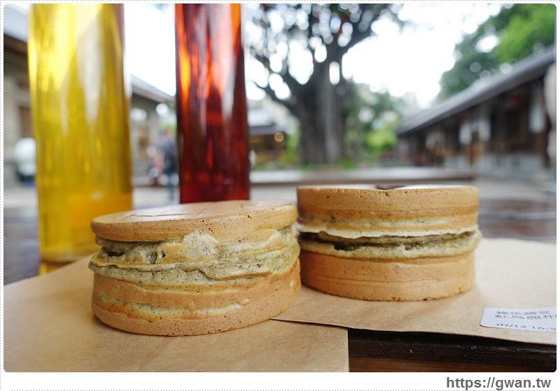 20160718025026 2 - [台中美食●西區] 綠色講堂 茗菓子–跟拳頭一樣大的茶香紅豆餅