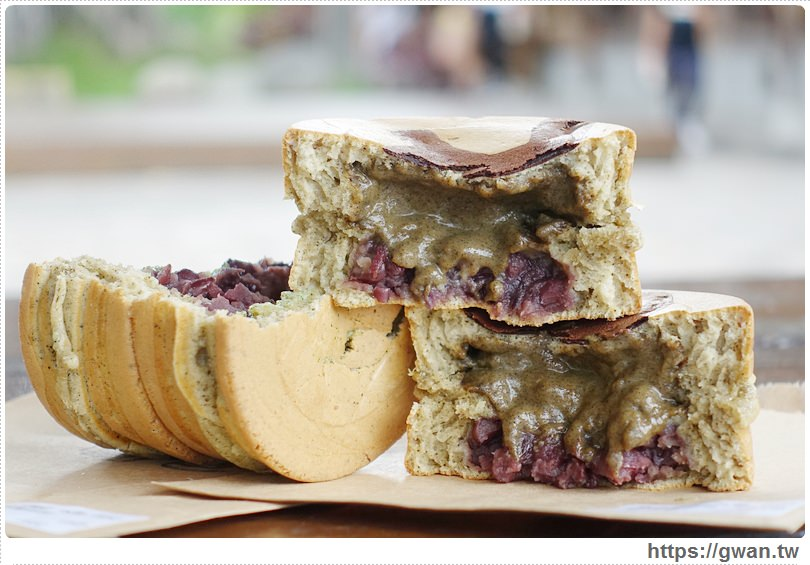 20160718025048 21 - [台中美食●西區] 綠色講堂 茗菓子–跟拳頭一樣大的茶香紅豆餅