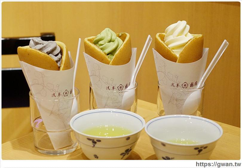 [日本美食●東京] 羽田機場。淺草梅園 — 日式甜點百年老店 | 銅鑼燒冰淇淋、日式甜點、伴手禮