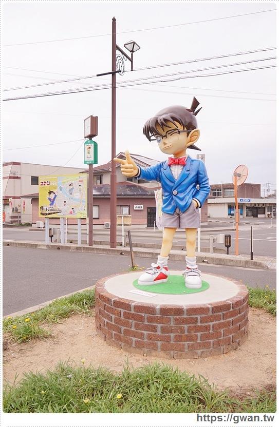 [日本景點●鳥取] 北榮町。由良車站 — 名偵探柯南的故鄉 | 超童心的柯南車站與柯南大橋
