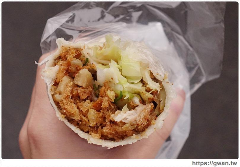 [台中美食●西區] 第五市場 游記潤餅 — 皮Q料多美味潤餅、蛋酥好好吃(食尚玩家推薦)
