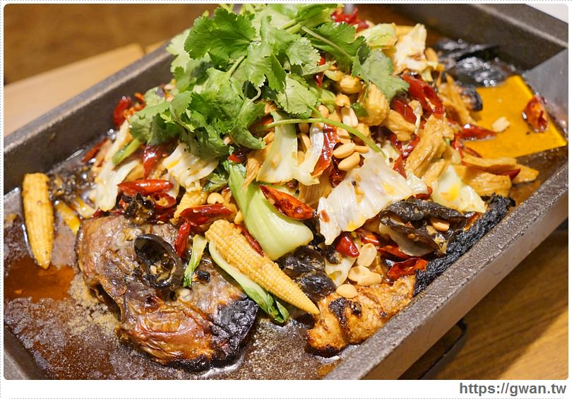 20170122203400 88 - 熱血採訪 | 城裡城外巫山烤魚 — 麻辣酸甜怪味烤魚 | 台灣也能吃到道地四川活魚料理