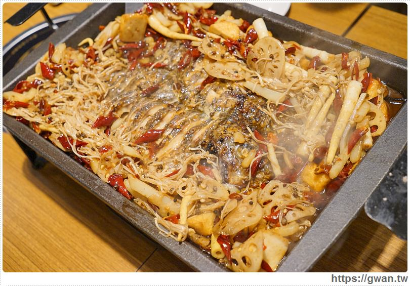 20170122203415 1 - 熱血採訪 | 城裡城外巫山烤魚 — 麻辣酸甜怪味烤魚 | 台灣也能吃到道地四川活魚料理