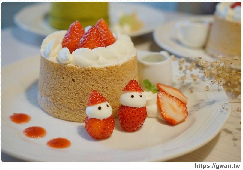 [捷運美食●雙連站] 蜜菓拾伍甜點咖啡店 — 季節限定加餡草莓戚風 | 赤峰街裡隱藏版甜點