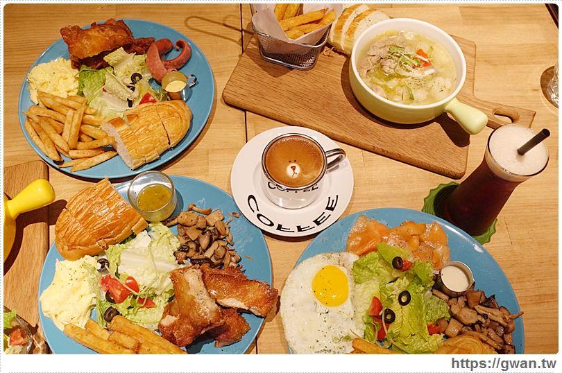 [台中美食●西區] 牧熊小館 Moow — 隱藏巷弄裡的人氣早午餐 | 輕工業風裝潢、全天候早午餐