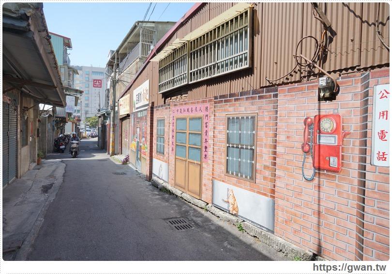 20170225153859 38 - 沙鹿美仁里彩繪村 — 超精緻、超復古,巷子裡的懷舊風彩繪
