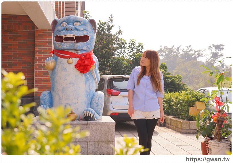 [金門景點●金城] 金門夏墅風獅爺 — 超可愛的哆啦A夢風獅爺 | 金門藍色小叮噹