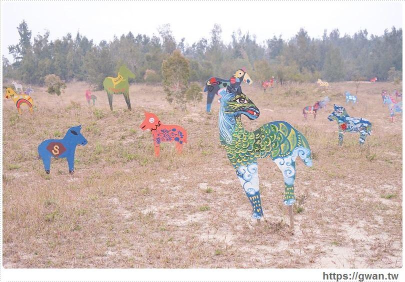 [金門景點●金城] 金門古崗自然村 — 古岡彩繪馬 | 青山排戰鬥教練場文化地景創作