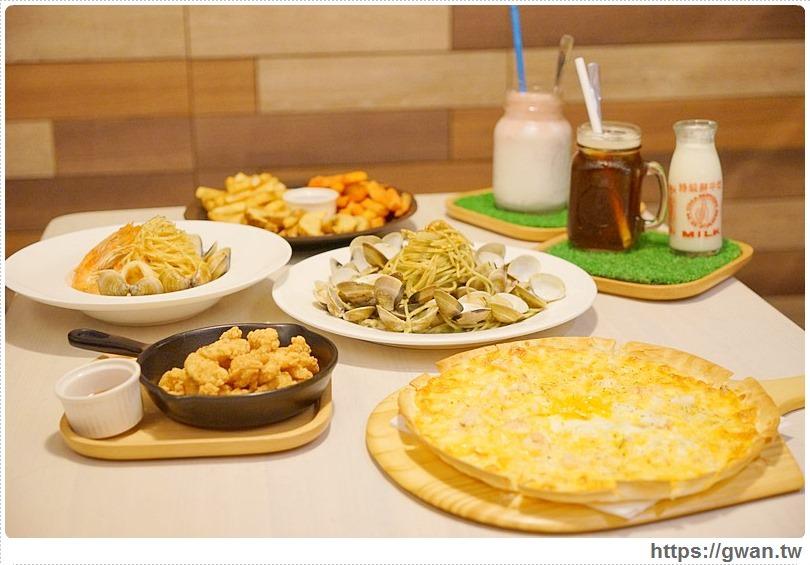 [台中美食●西區] 隨便CHIN TSAI — 足足一斤讓你喊「哇賽」的爆多蛤蜊義大利麵 | 麵飯加大不加價