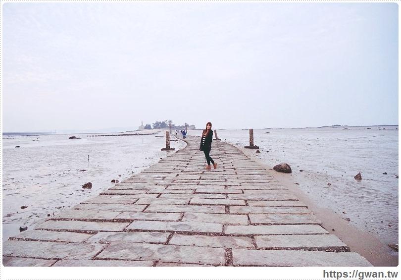 [金門景點●金城] 建功嶼 — 金門也有台版摩西分紅海 | 潮起潮落間的天然奇景