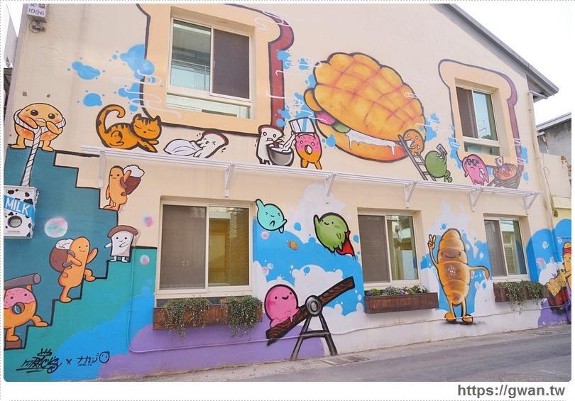 20170326022123 34 - 柳川や彩繪麵包店 — 可愛的冰淇淋菠蘿麵包與彩繪牆,好吃又好拍