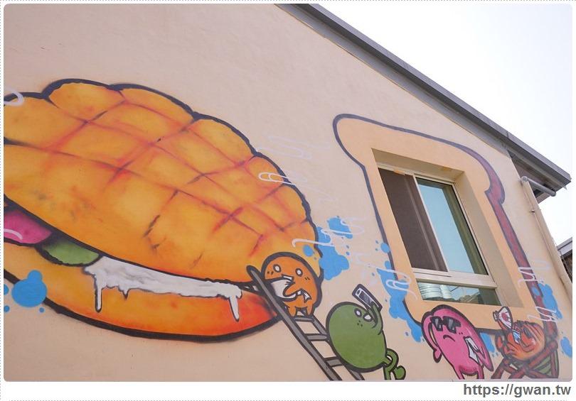 20170326022137 90 - 柳川や彩繪麵包店 — 可愛的冰淇淋菠蘿麵包與彩繪牆,好吃又好拍