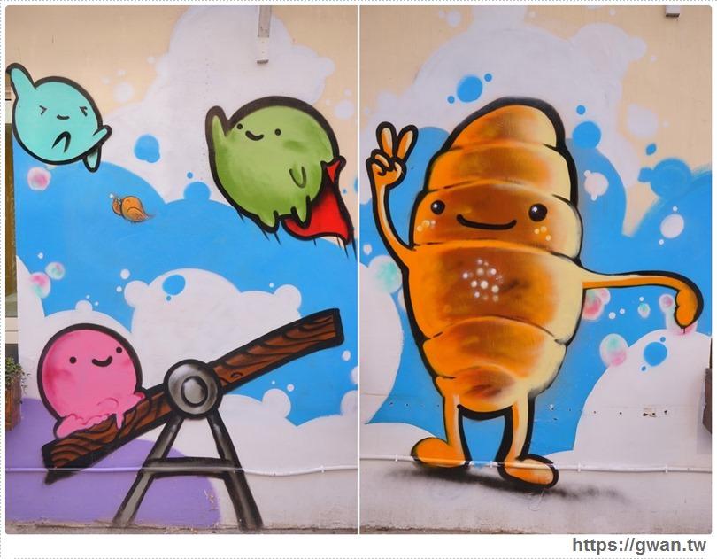 20170326022139 64 - 柳川や彩繪麵包店 — 可愛的冰淇淋菠蘿麵包與彩繪牆,好吃又好拍