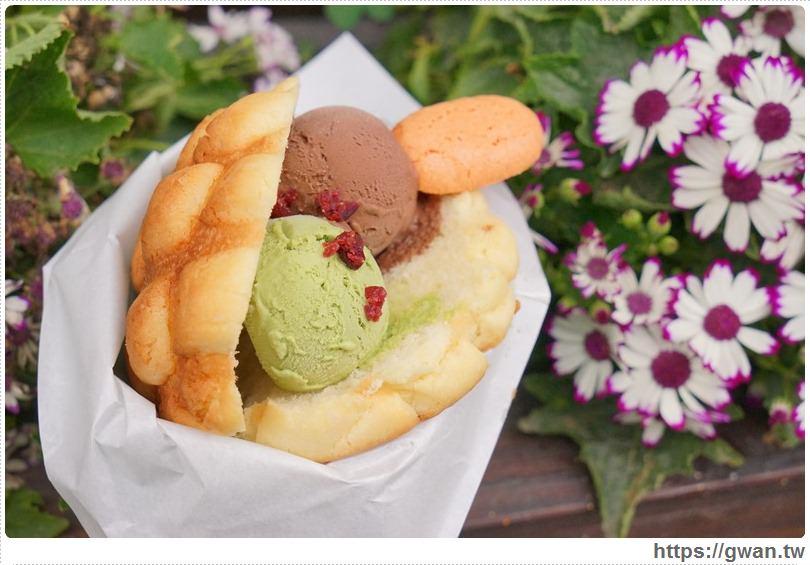 20170326022153 36 - 柳川や彩繪麵包店 — 可愛的冰淇淋菠蘿麵包與彩繪牆,好吃又好拍