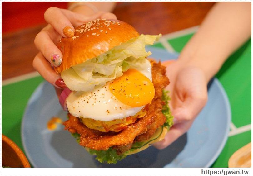 [台中早午餐●美式餐廳] 飽庫 All-in Burger菜單 — 一中商圈美味漢堡、早午餐、全天候美食