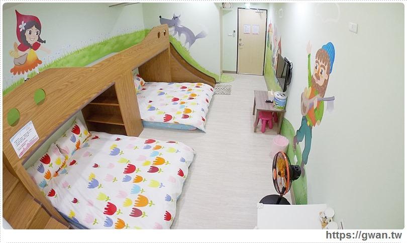 [台南住宿●北區] 莎拉童話親子民宿 — 童話故事主題親子民宿 | 每間都有溜滑梯的彩繪房