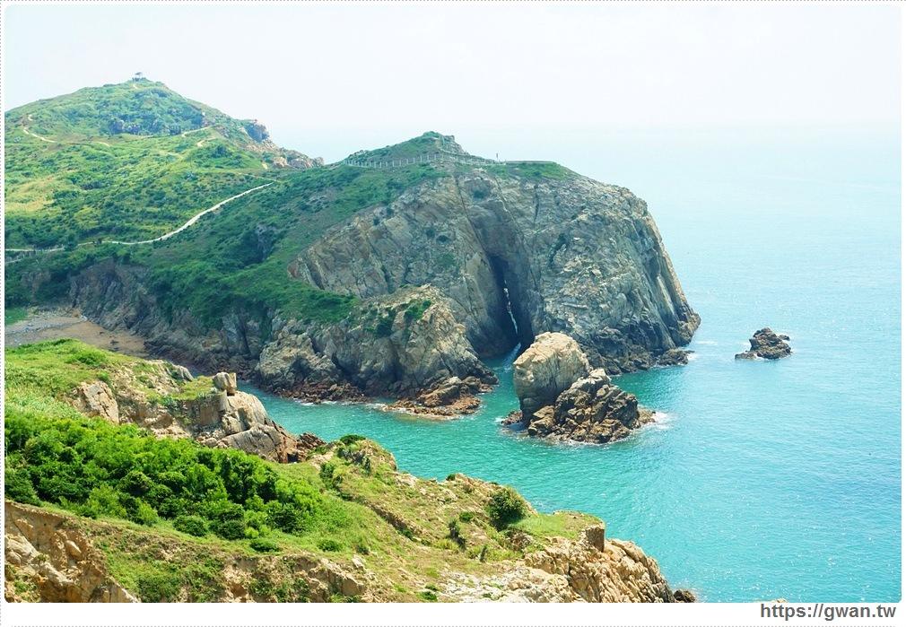 [馬祖景點●東莒] 神祕小海灣 — 東莒島上的大雞腿 | 也是藍眼淚的拍攝點