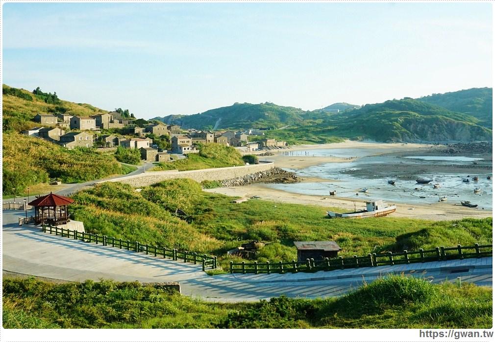 [馬祖景點●東莒] 福正聚落 — 東犬燈塔下的石頭城 | 東莒曾經最繁華的漁村聚落