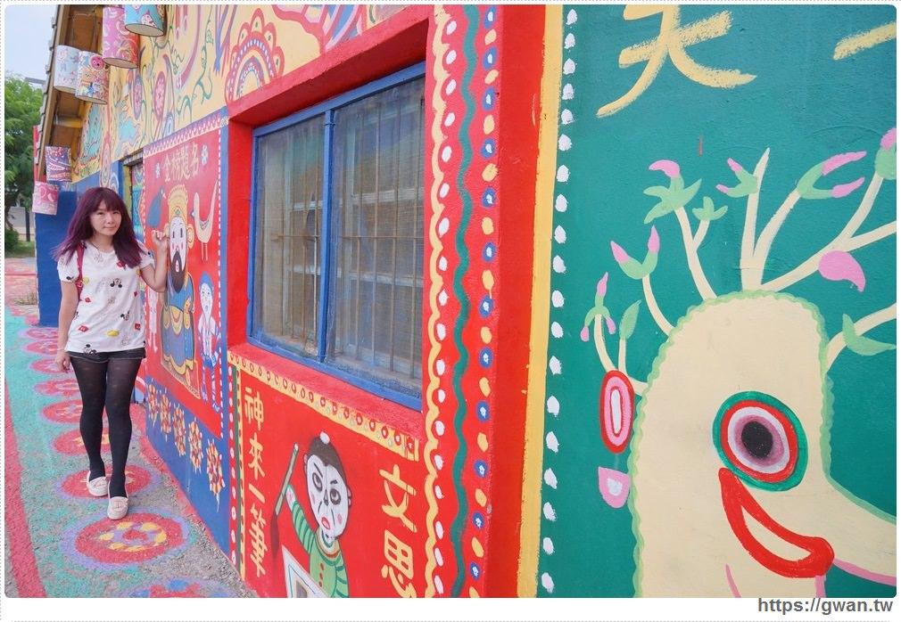 20170908120929 14 - 2017彩虹眷村新面貌 | 外國遊客最愛的療癒系彩繪藝術村