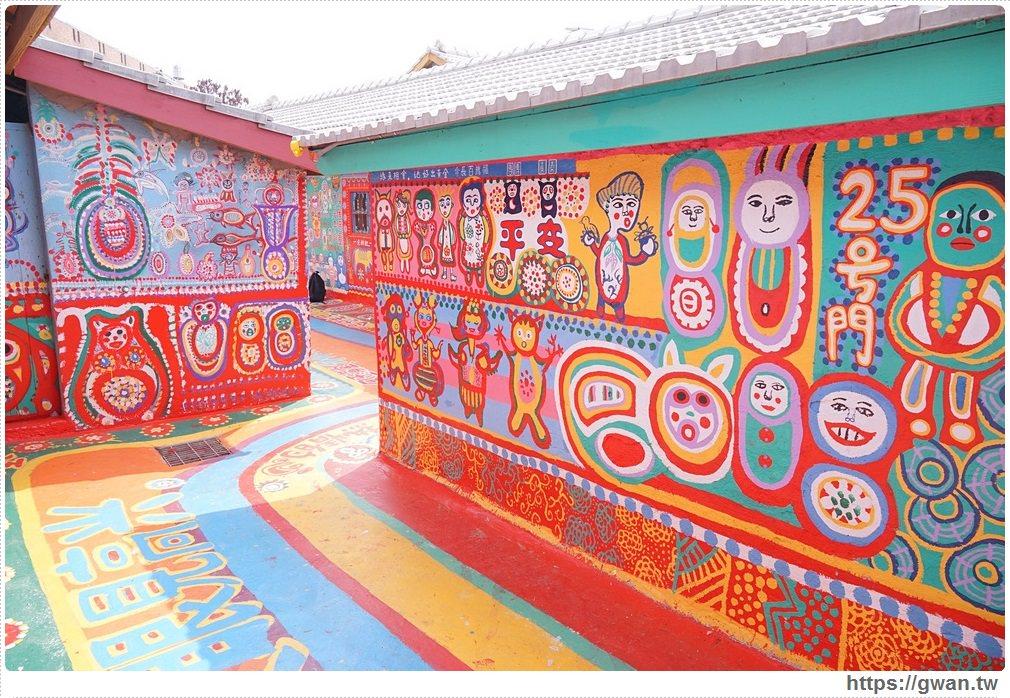 20170908120938 36 - 2017彩虹眷村新面貌 | 外國遊客最愛的療癒系彩繪藝術村