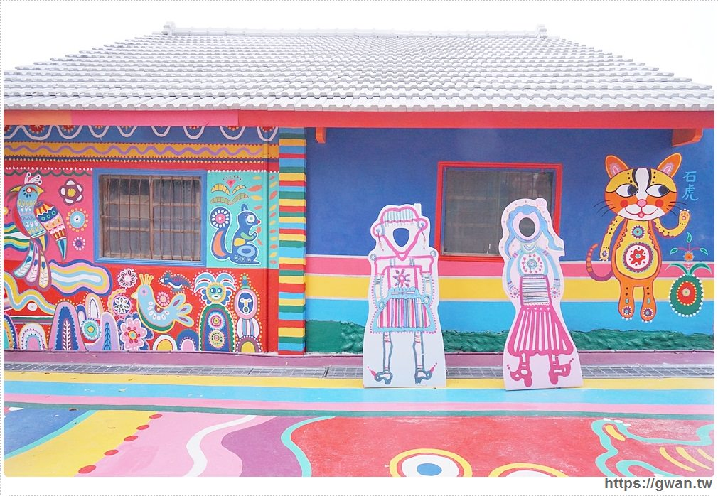 20170908121005 76 - 2017彩虹眷村新面貌 | 外國遊客最愛的療癒系彩繪藝術村