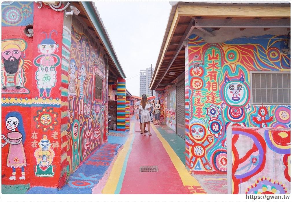 20170908121006 97 - 2017彩虹眷村新面貌 | 外國遊客最愛的療癒系彩繪藝術村