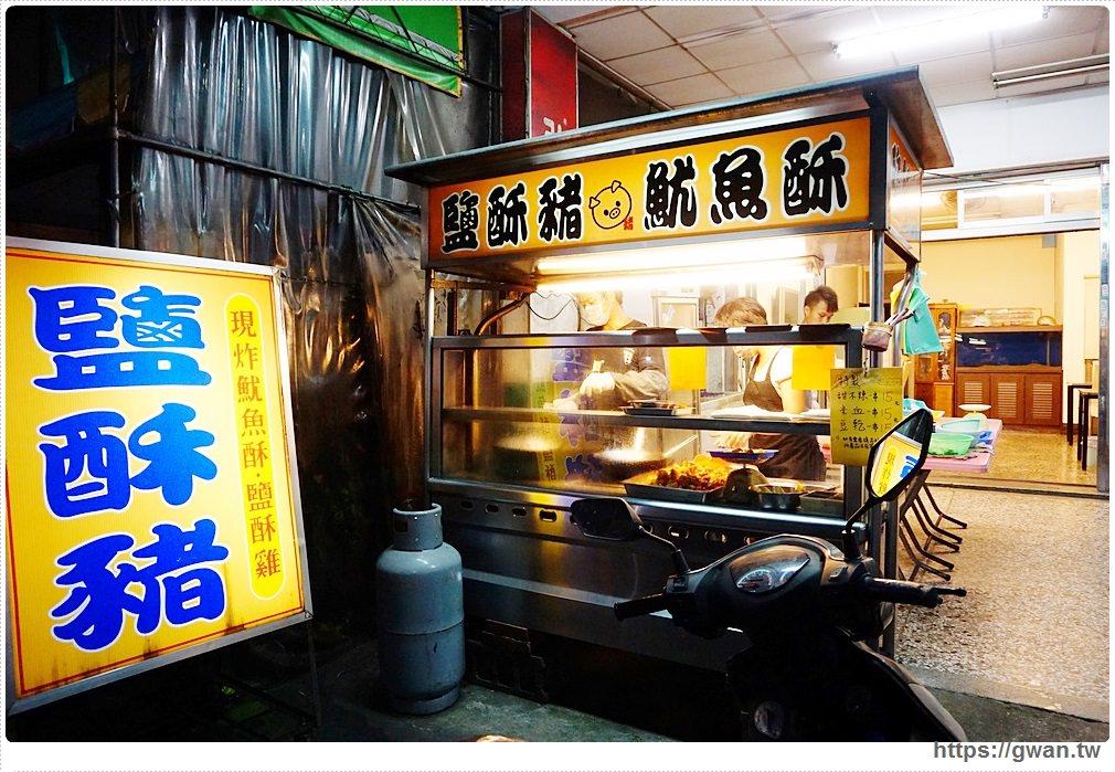 [台中小吃宵夜●北區] 鹽酥豬 — 沒看錯~這裡有賣鹽酥豬,煉奶地瓜也好特別!!
