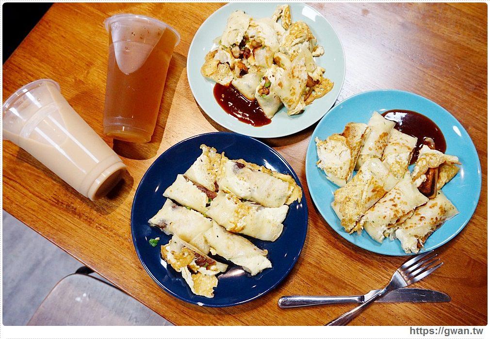 [台中早餐●東海] 湯姆阿姨 — 吐司、章魚、年糕通通包進蛋餅裡 | 湯姆漢堡重新開幕