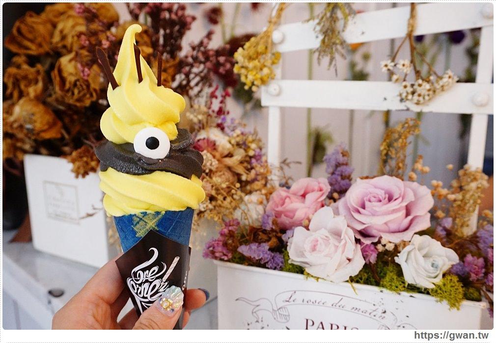 [高雄冰品●苓雅區] CornerCone酷礦美式手作霜淇淋 — 百變霜淇淋,獨賣四天可愛小小兵!!