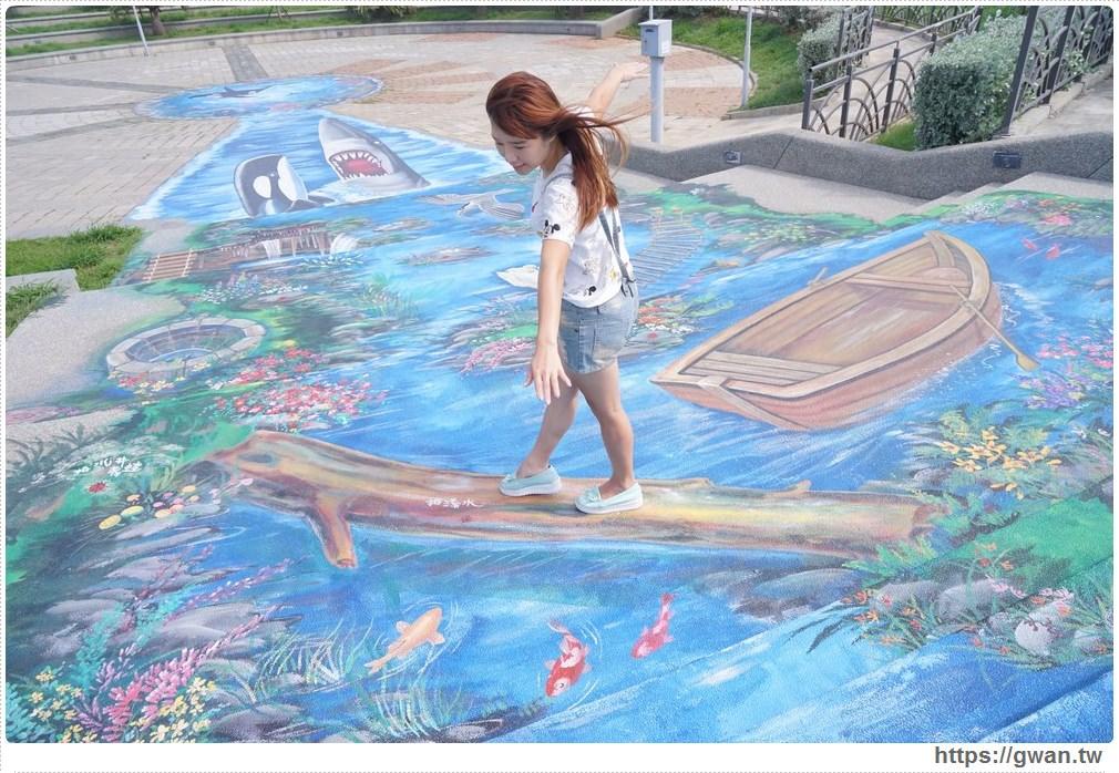 20171020223539 86 - 頂魚寮公園 — 3D地景藝術,和虎鯨、鯊魚一起拍照