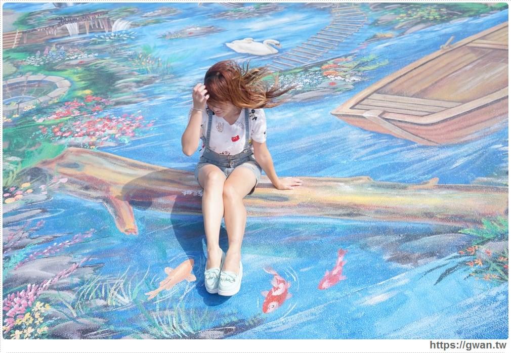 20171020223540 36 - 頂魚寮公園 — 3D地景藝術,和虎鯨、鯊魚一起拍照