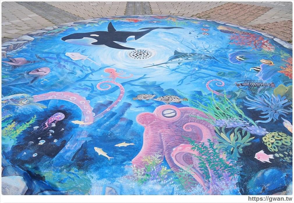20171020223608 5 - 頂魚寮公園 — 3D地景藝術,和虎鯨、鯊魚一起拍照