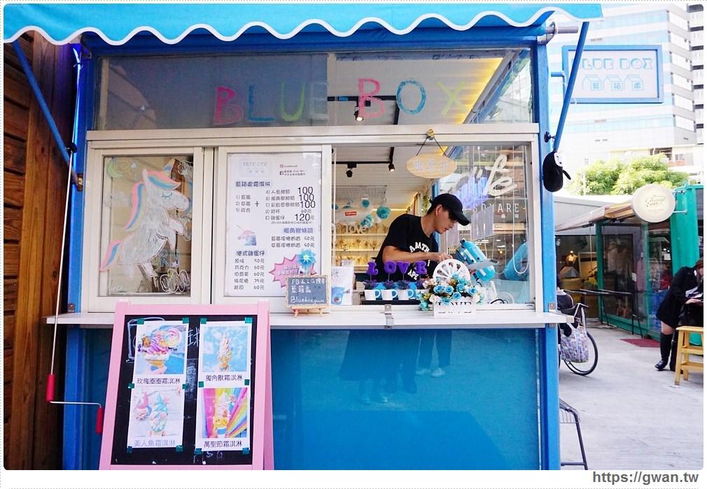 20171025220950 18 - 藍箱處— 台中也能吃到夢幻美人魚和獨角獸霜淇淋了!!