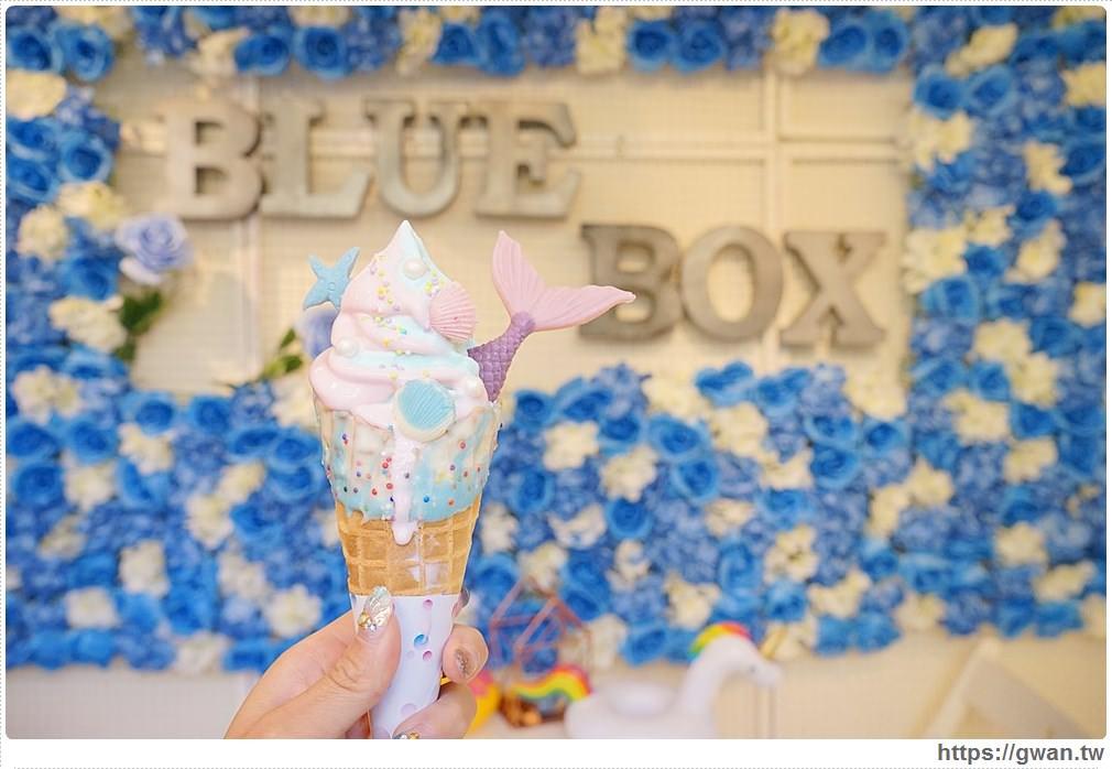 20171025221000 11 - 藍箱處— 台中也能吃到夢幻美人魚和獨角獸霜淇淋了!!