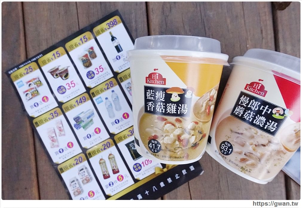 20171116191909 44 - 台中萊爾富推出很鬧的藍瘦香菇雞湯–喝完到底會不會香菇!!??